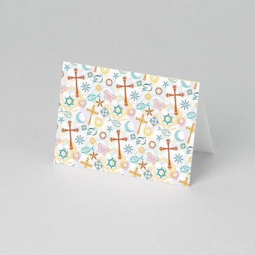 Tischkarten Kommunion Transparent pas cher