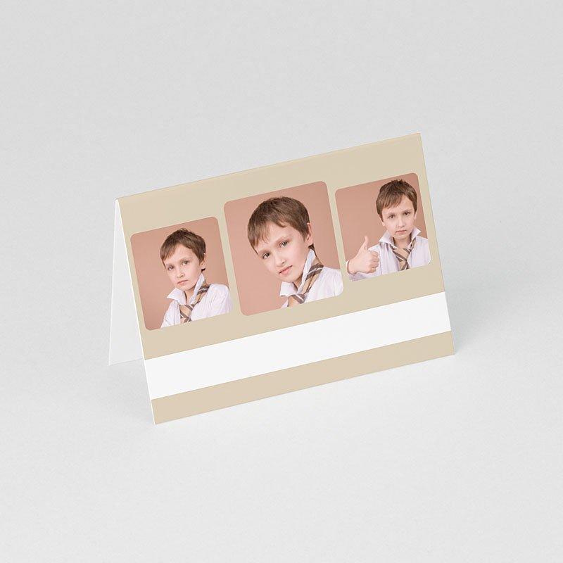 Tischkarten Kommunion Schlicht 1 gratuit