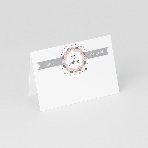 Tischkarten Geburtstag Damals und Heute gratuit