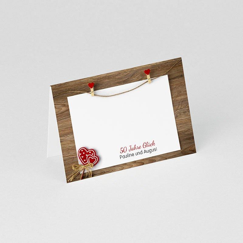 Tischkarten Geburtstag 50 Jahre Liebe gratuit