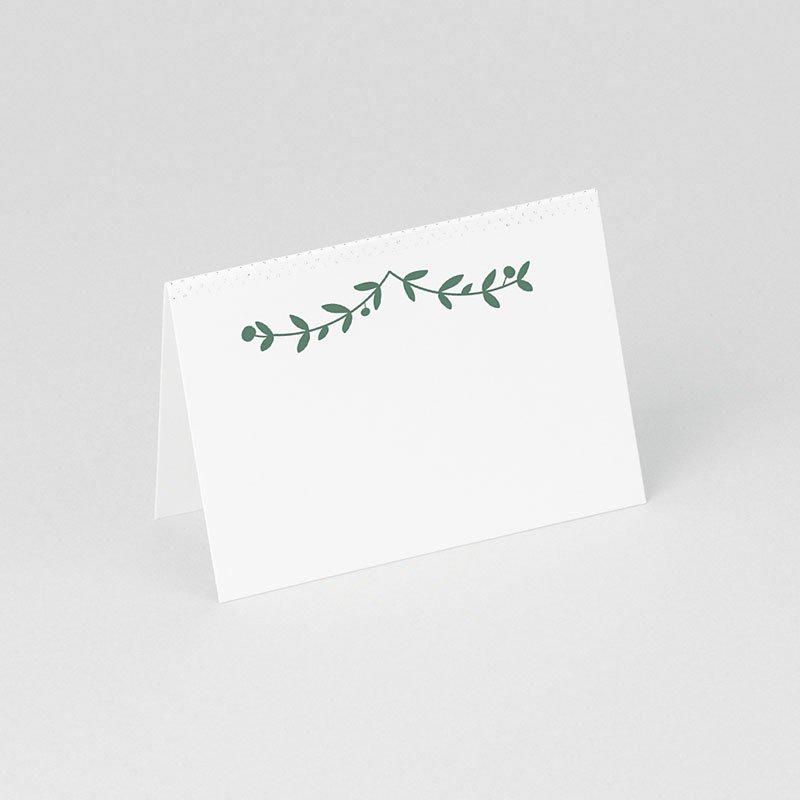 Tischkarten Hochzeit personalisiert Diadem gratuit