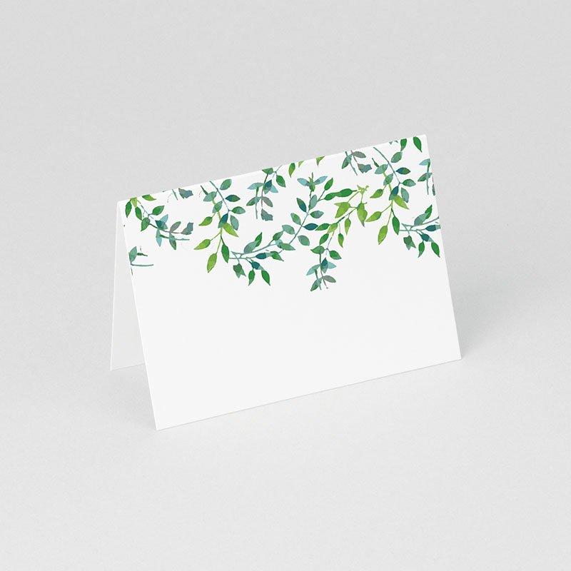 Tischkarten Hochzeit Greenery gratuit