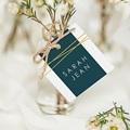 Tischkarten Hochzeit Inchyra Blue