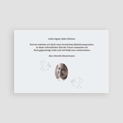 Weltlich Dankeskarten Trauer Dawud pas cher