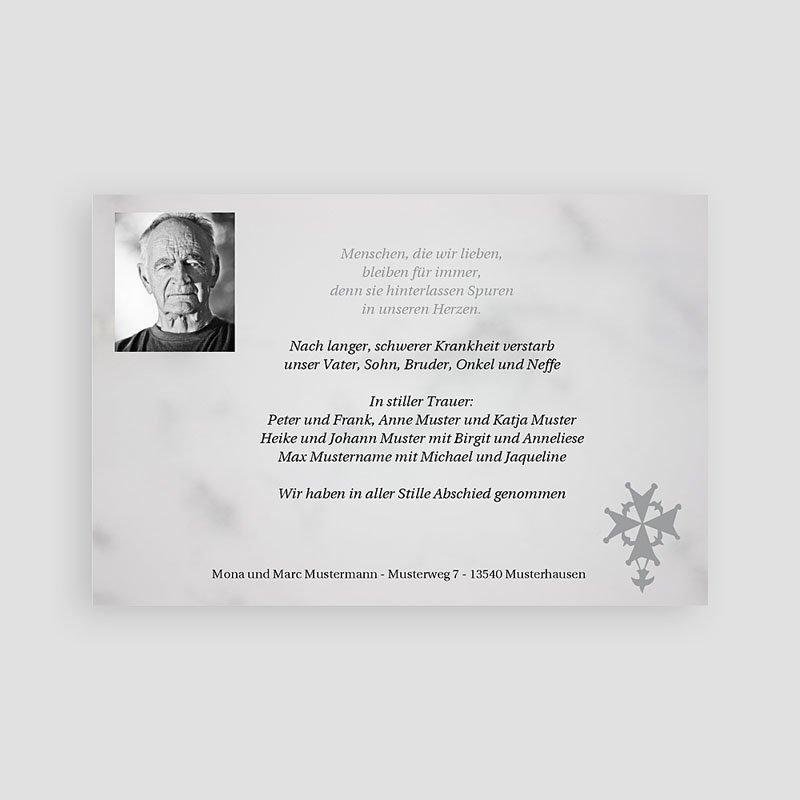 Christlich Dankeskarten Trauer Stille Trauer pas cher