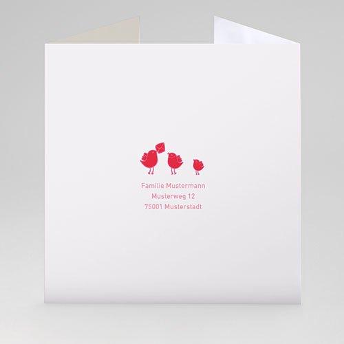 Geburtskarten für Mädchen Hochzeitsflair gratuit