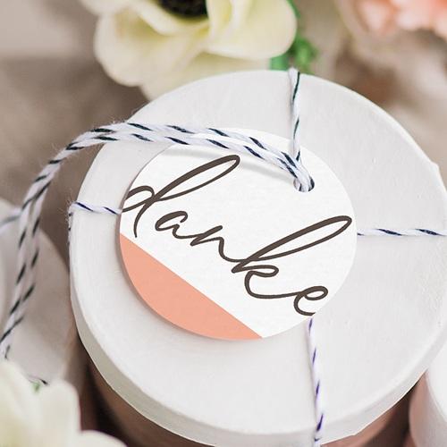 Anhänger Hochzeit Color Touch gratuit