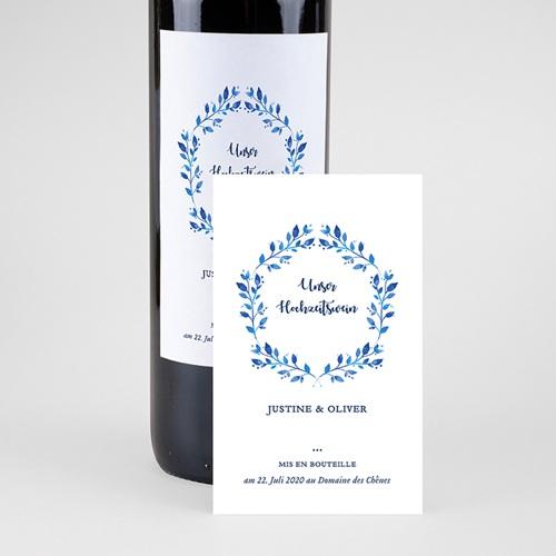 Flaschenetiketten Hochzeit Mediterran pas cher