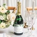Flaschenetiketten Hochzeit Botanisches Grün gratuit
