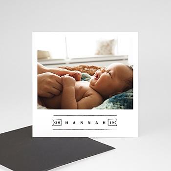 Geburtskarten Magnet - Small Wonder - 0