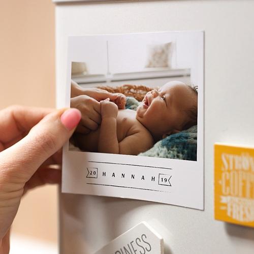 Magnet Geburtskarten Small Wonder pas cher
