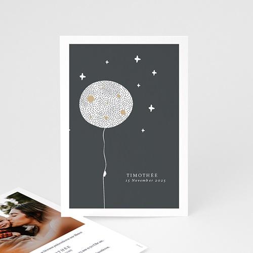 Kreative Geburtskarten Magischer Mond