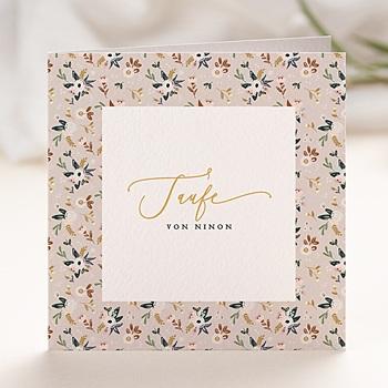 Einladungskarten Taufe Mädchen Frühling