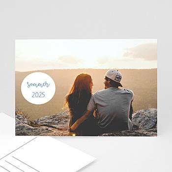 Fotokarten selbst gestalten Nizza Postkarte