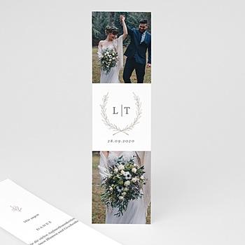 Stilvolle Danksagung Hochzeit - Kinfolk Blume - 0