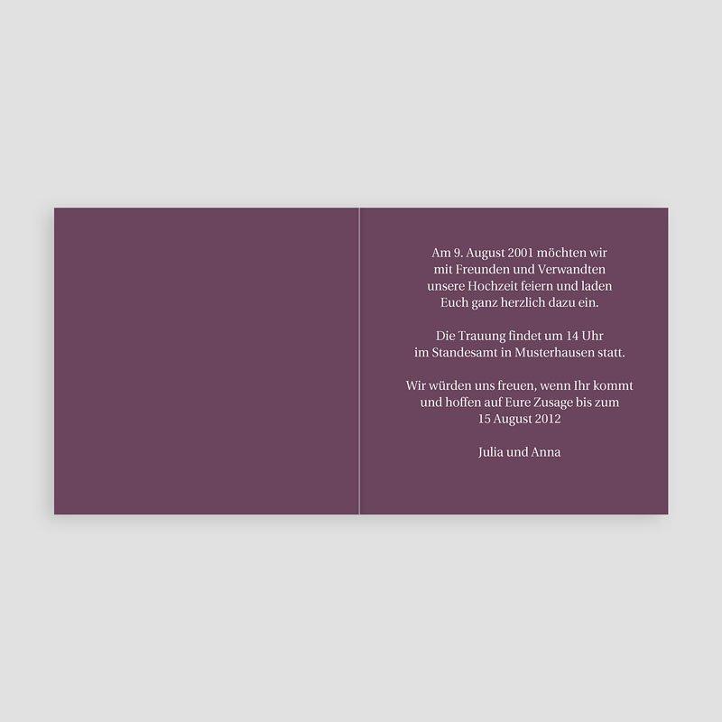 sie + er - einladungskarte standesamt 1 | carteland.de, Einladung