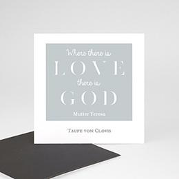 Danksagungskarten Taufe Verspielt