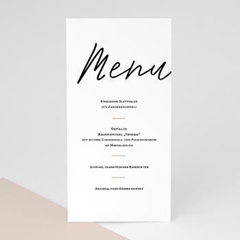Menükarten Hochzeit - WIR SAGEN JA - 0