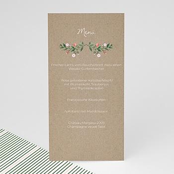 Menükarten Hochzeit - Wiesenhochzeit - 0