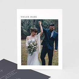 Dankeskarten Hochzeit mit Foto Kinfolk Spirit