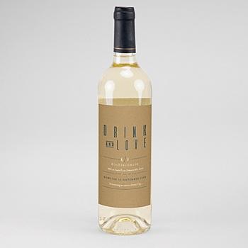 Flaschenetiketten Wein Grün & Kraft