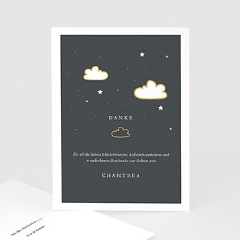 Kreative Dankeskarten Geburt  Zauberlaterne