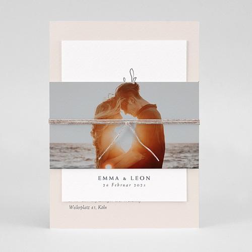 Einladungskarten Naturhochzeit  Kinfolk Spirit pas cher