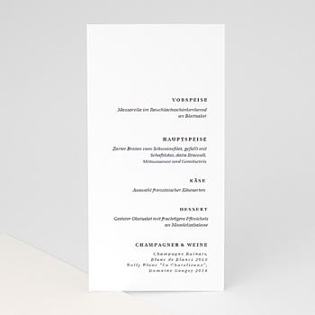 Menükarten Hochzeit - Moderner Twist - 0