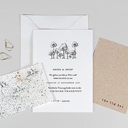 Karten Hochzeit Authentisch