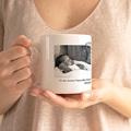 Personalisierte Fototassen Vatertag Papa N°1 gratuit