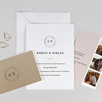 Hochzeitskarten mit Foto Venezia