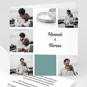 Sie + Er - Hochzeitskarte Fotoserie - 1