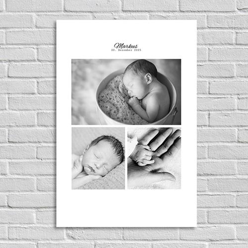 Poster - Schwarz-Weiss 7753