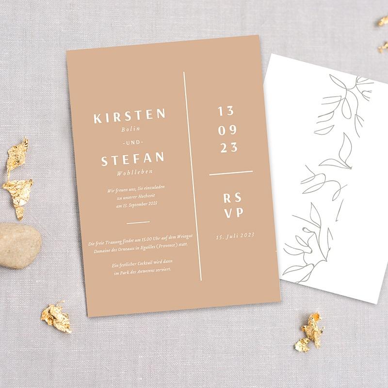 Natur Hochzeitseinladungen Milan