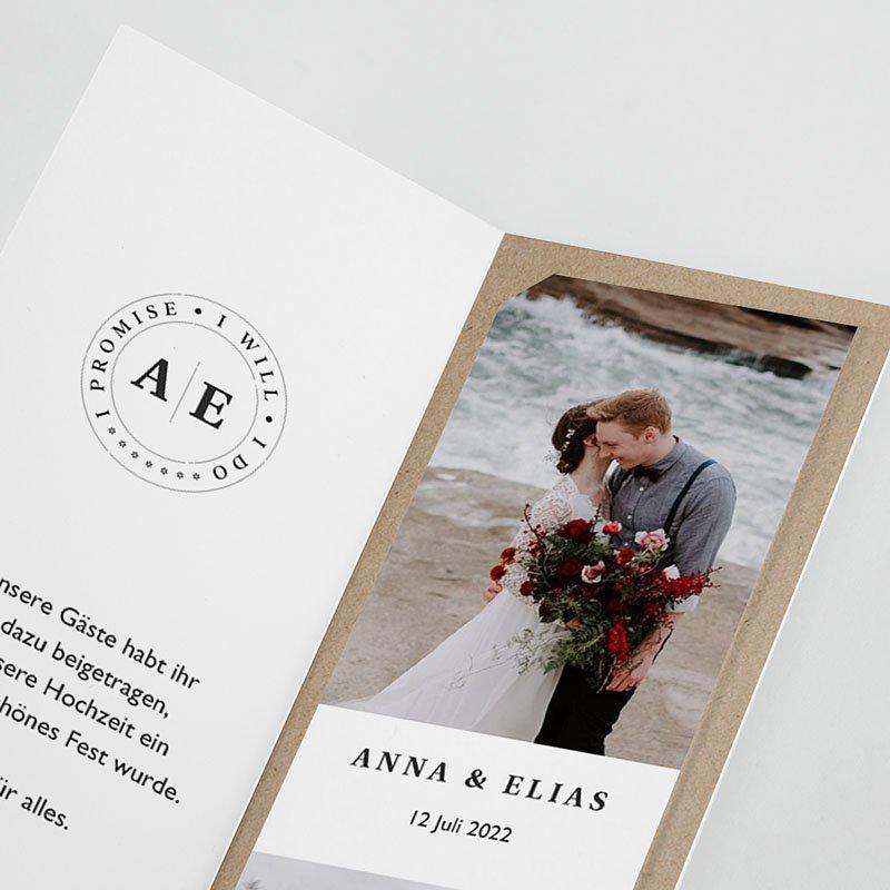 Originelle Dankeskarten Hochzeit Venezia pas cher