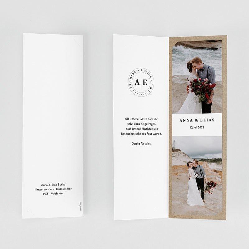 Originelle Dankeskarten Hochzeit Venezia gratuit