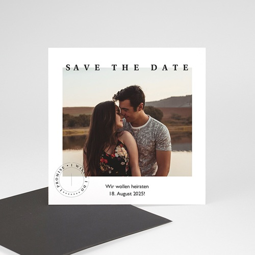 Save The Date Magnet Hochzeit Venezia