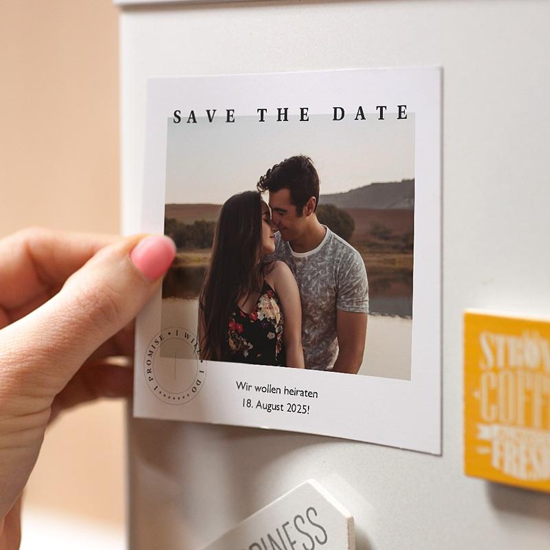 Save The Date Magnet Hochzeit Venezia pas cher