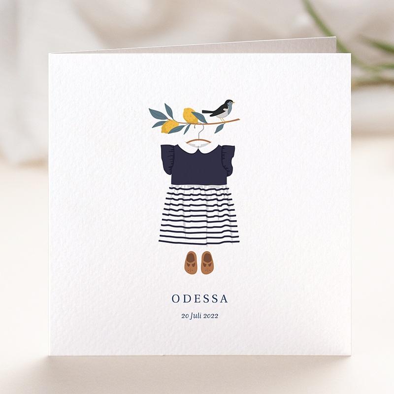 Geburtskarten Sommerkleid