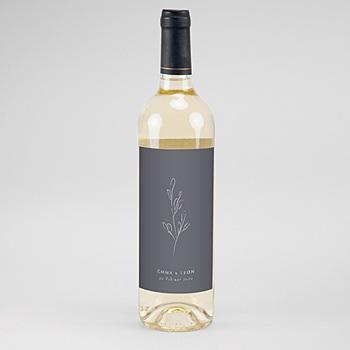 Flaschenetiketten Wein Kinfolk Spirit