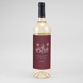 Flaschenetiketten Hochzeit - Authentisch - 0