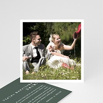 Dankeskarten Hochzeit Boho - Authentisch - 0