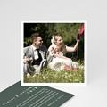 Boho Dankeskarten Hochzeit Authentisch, 10 x 10