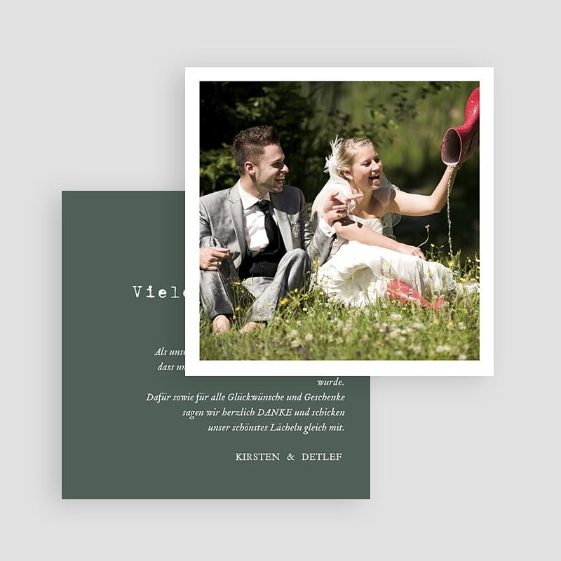 Boho Dankeskarten Hochzeit Authentisch, 10 x 10 gratuit