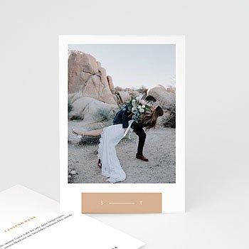 Dankeskarten Hochzeit - Süden - 0