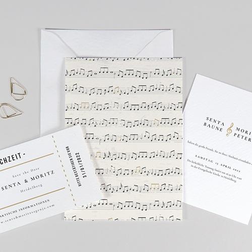 Originelle Hochzeitseinladungen Musik
