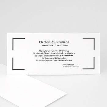 Archivieren - Trauerkarte klassisch - 1