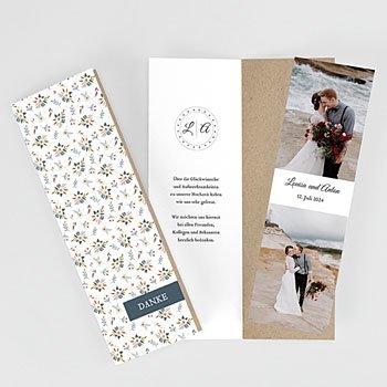 Dankeskarten Hochzeit Landhochzeit Millefiori
