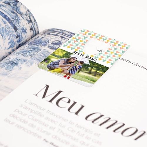 Personalisierte Lesezeichen Fähnchenwald pas cher