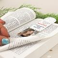 Personalisierte Lesezeichen Pünktchen gratuit